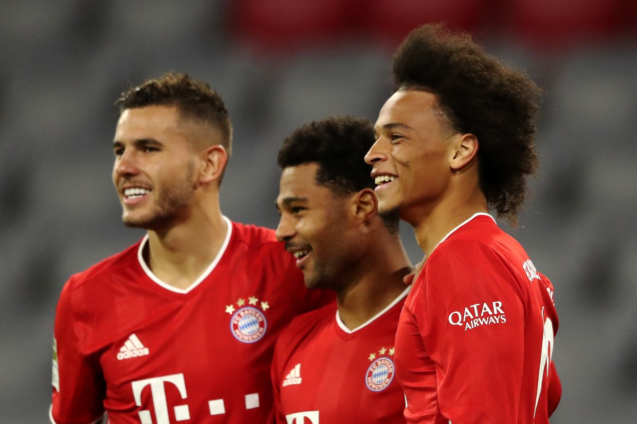 Match awards from Bayern?s massive 8:0 win against Schalke