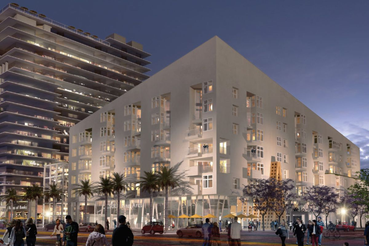 Downtown Long Beach development includes apartments ...