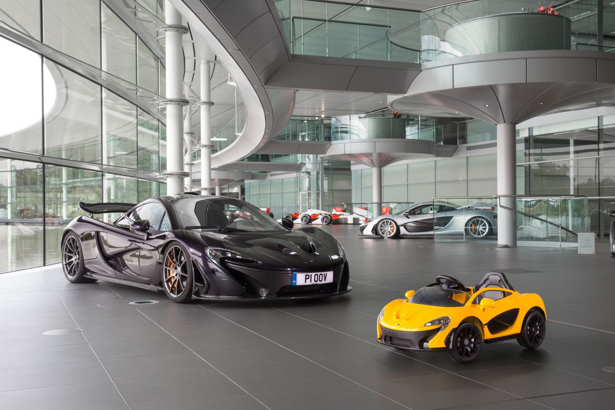British Carmaker Mclaren Has Been Talking About Developing A Pure Electric Vehicle