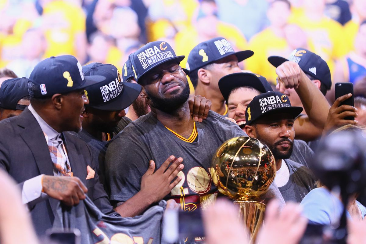 85293e5cf NBA Finals Game 7: LeBron James leads Cavaliers to Cleveland's first ...