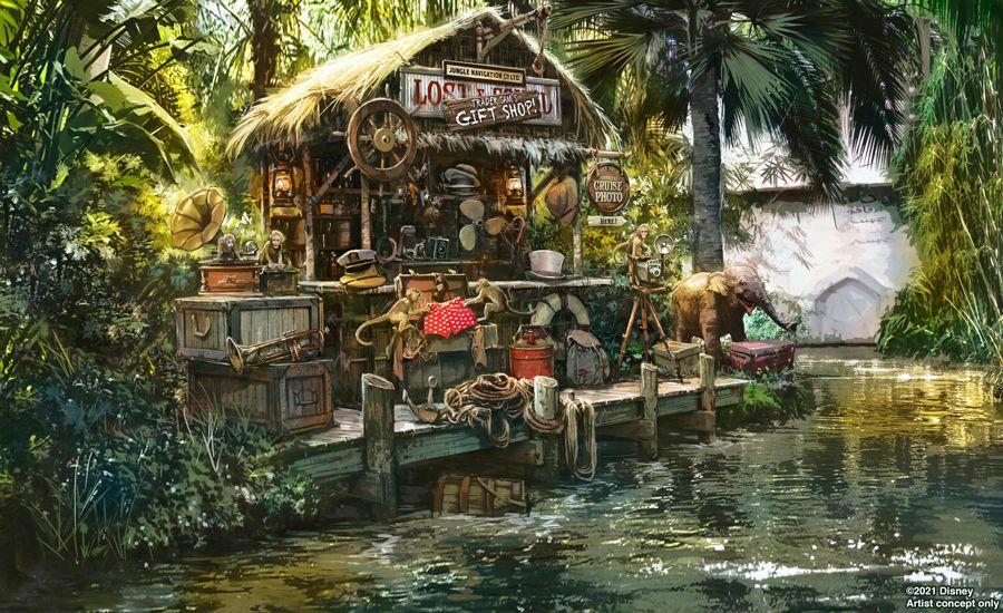 A look at Trader Sam's new gift shop.