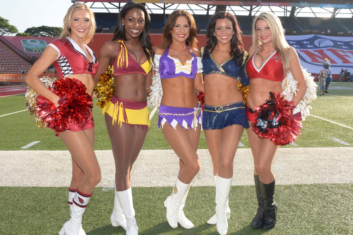 Yep. Cheerleader pic on Valentine's Day. You're welcome.