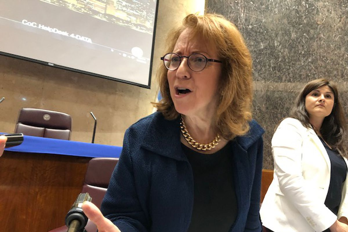 Ald. Michele Smith (43rd), chairman of the City Council's Ethics Committee, declares Chicago ready for reform after aldermen approve the ethics ordinance championed by Mayor Lori Lightfoot.