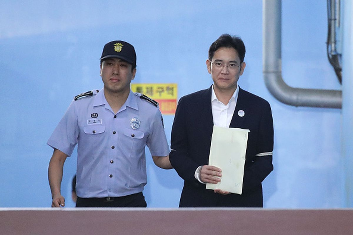 Samsung's heir apparent faces verdict in bribery trial