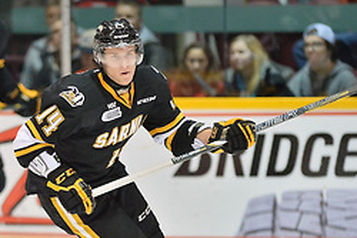 pretty nice d46e6 a68ec 2015 NHL Draft Prospect Profile #10 - Pavel Zacha - The Cannon