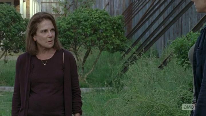 Deanna on The Walking Dead.