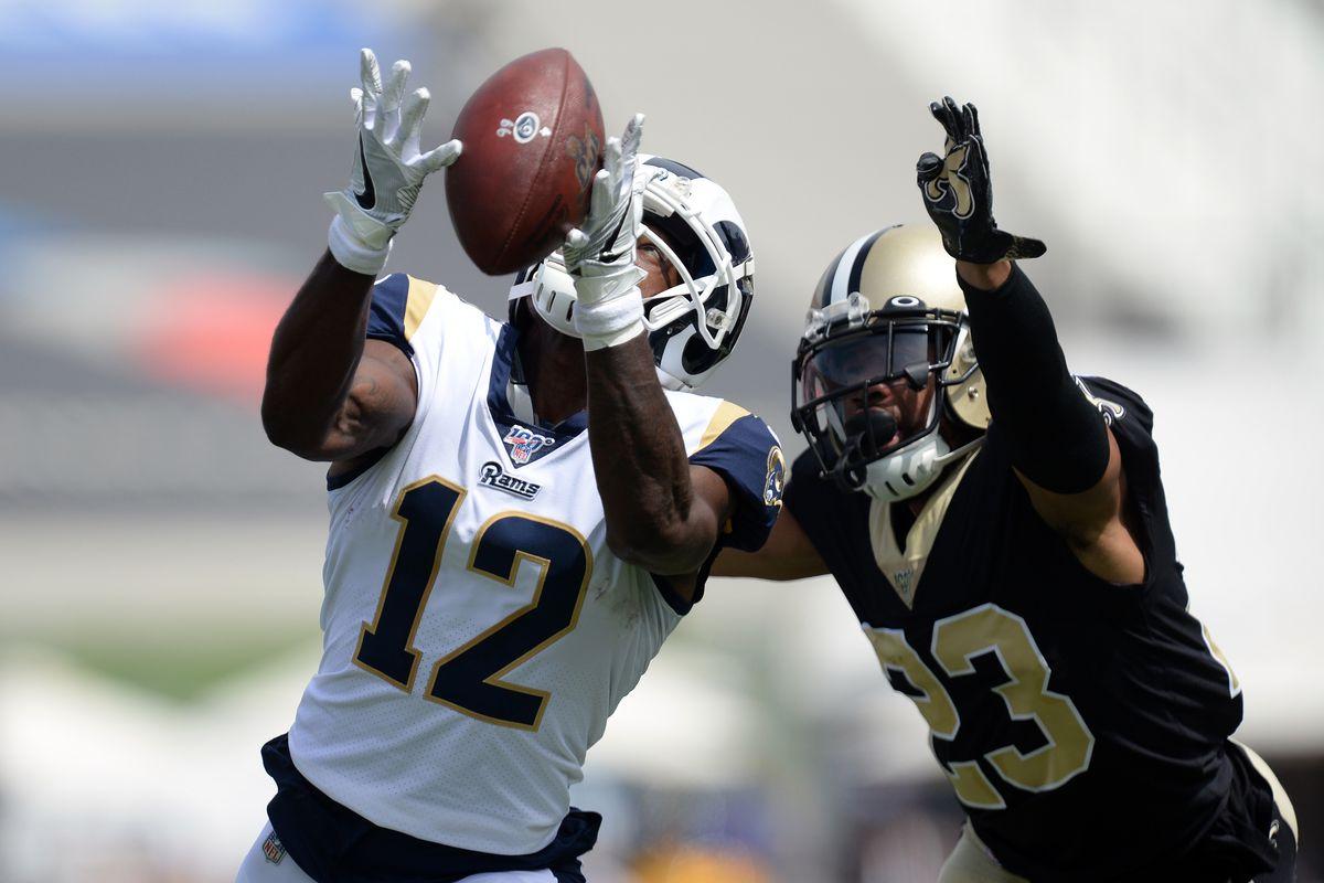 Los Angeles Rams vs. New Orleans Saints second half open thread