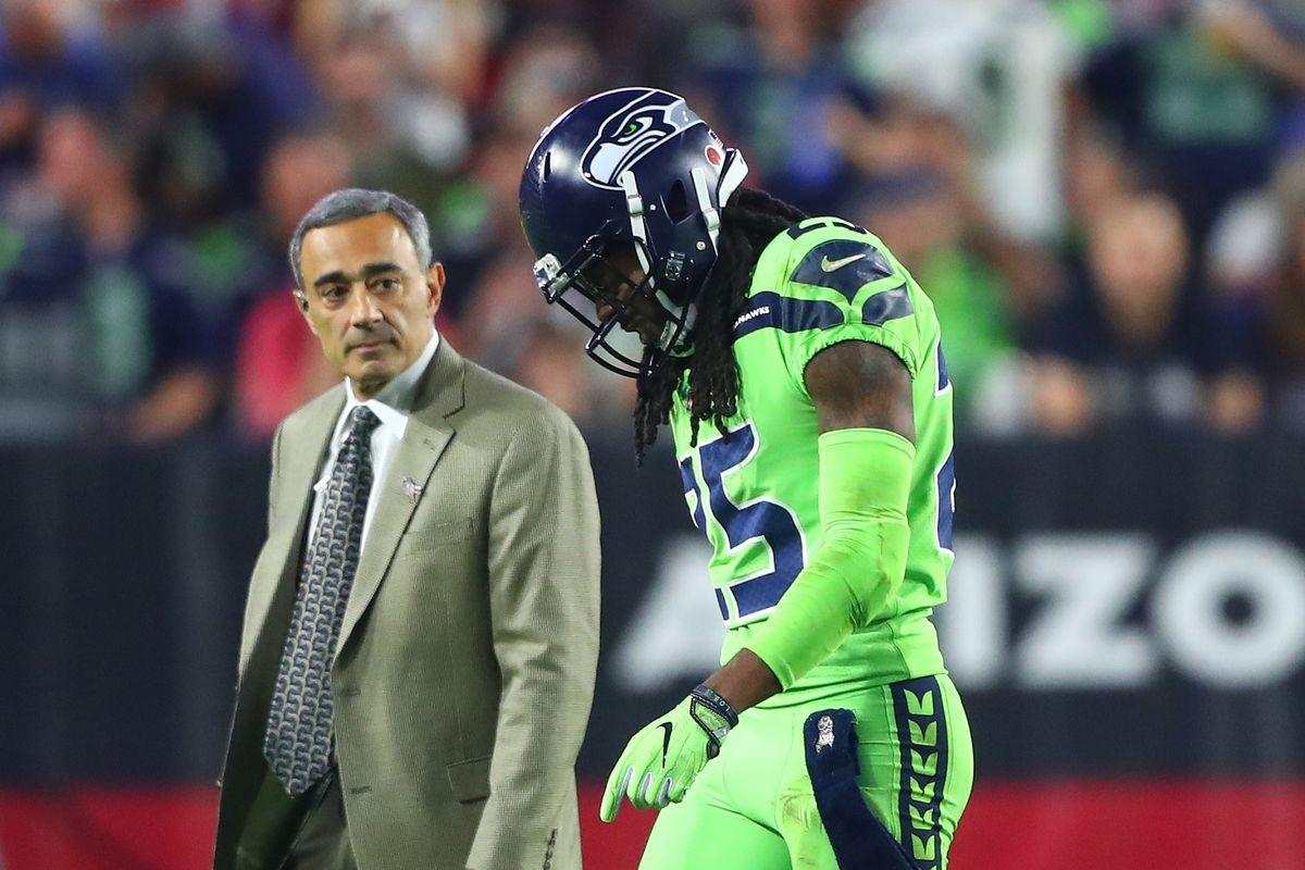 Richard Sherman Injury Seahawks cornerback out for season with