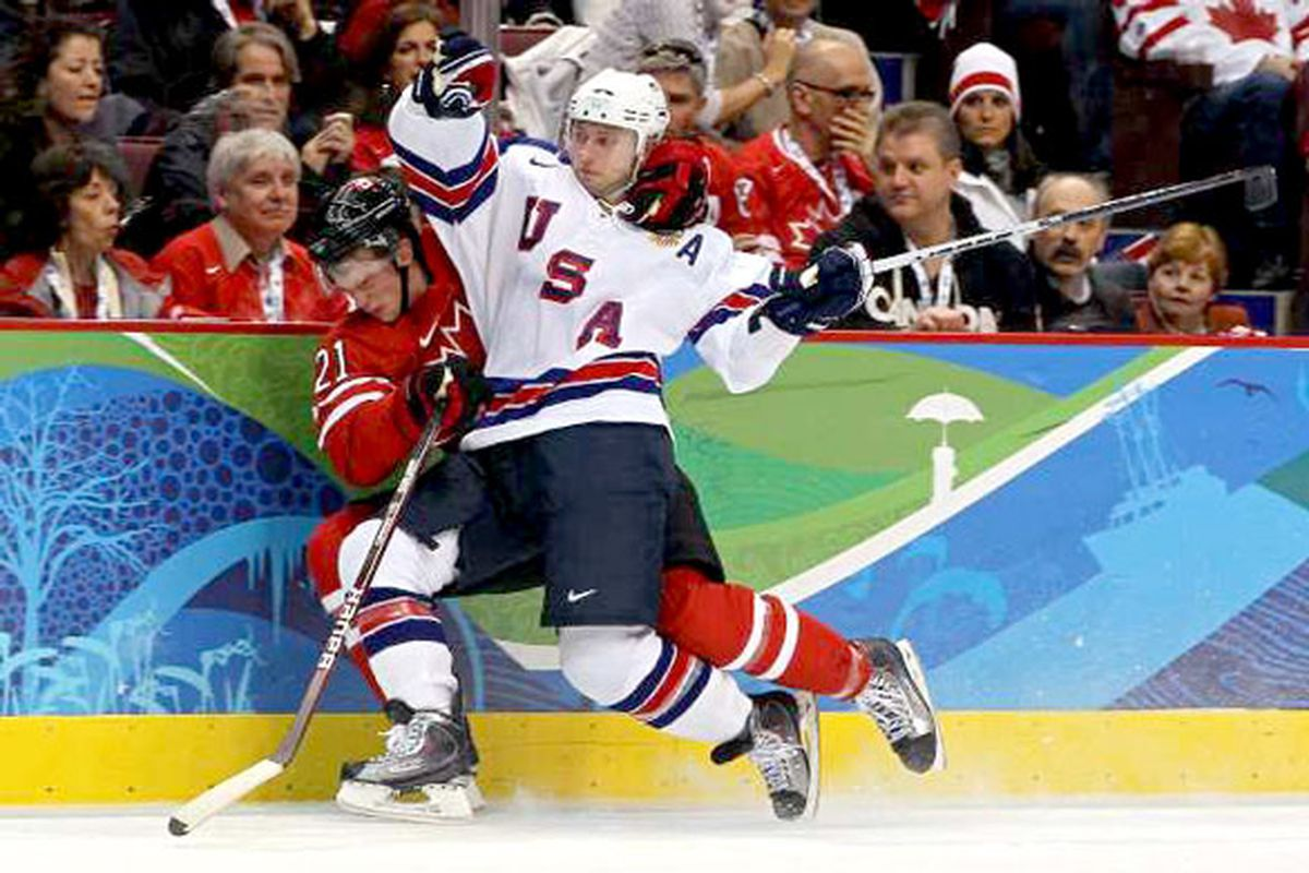 Team USA returns to the ice today and Canada faces Russia in the biggest hockey day of the Olympics so far.