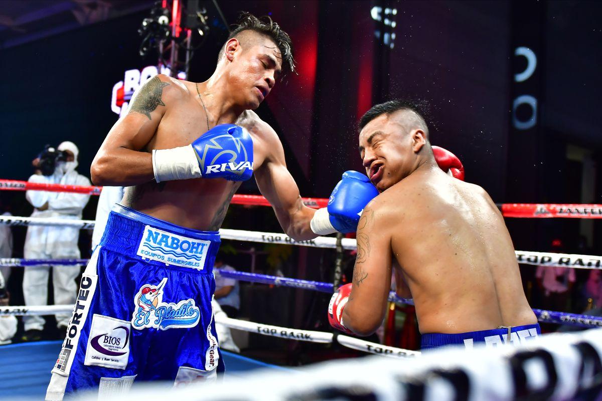 Pro Boxing Night During Coronavirus Pandemic in Mexico City