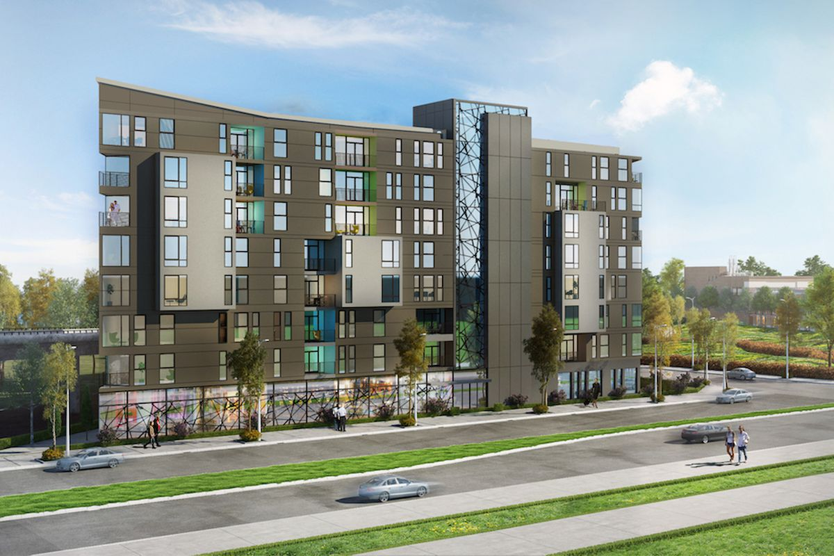The would-be new project on San Pablo Avenue.