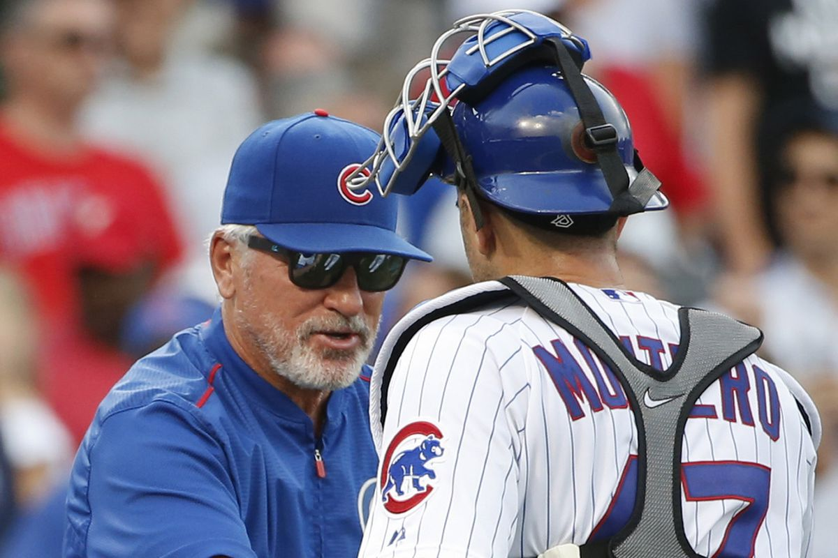 No, it wasn't Joe Maddon at the top of the podium. But some days it feels like it could be him.