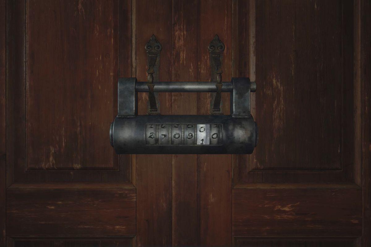 Resident Evil Village combination locks solutions