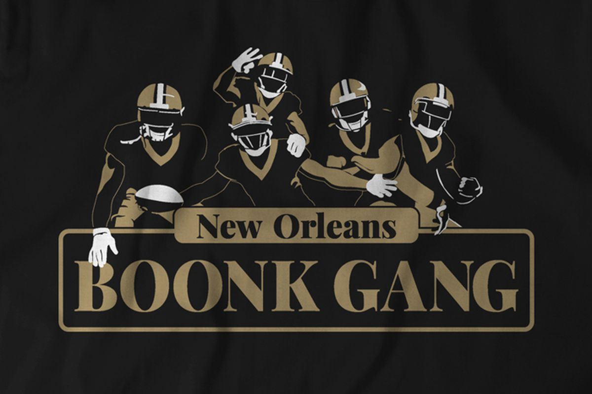 check out a51ff 18ab4 Black Friday special: Boonk Gang themed Saints shirt is on ...