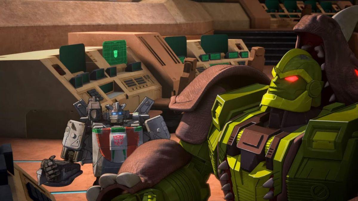 Rhinox on War for Cybertron