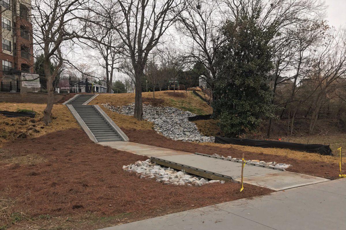 A new Atlanta Beltline access point.