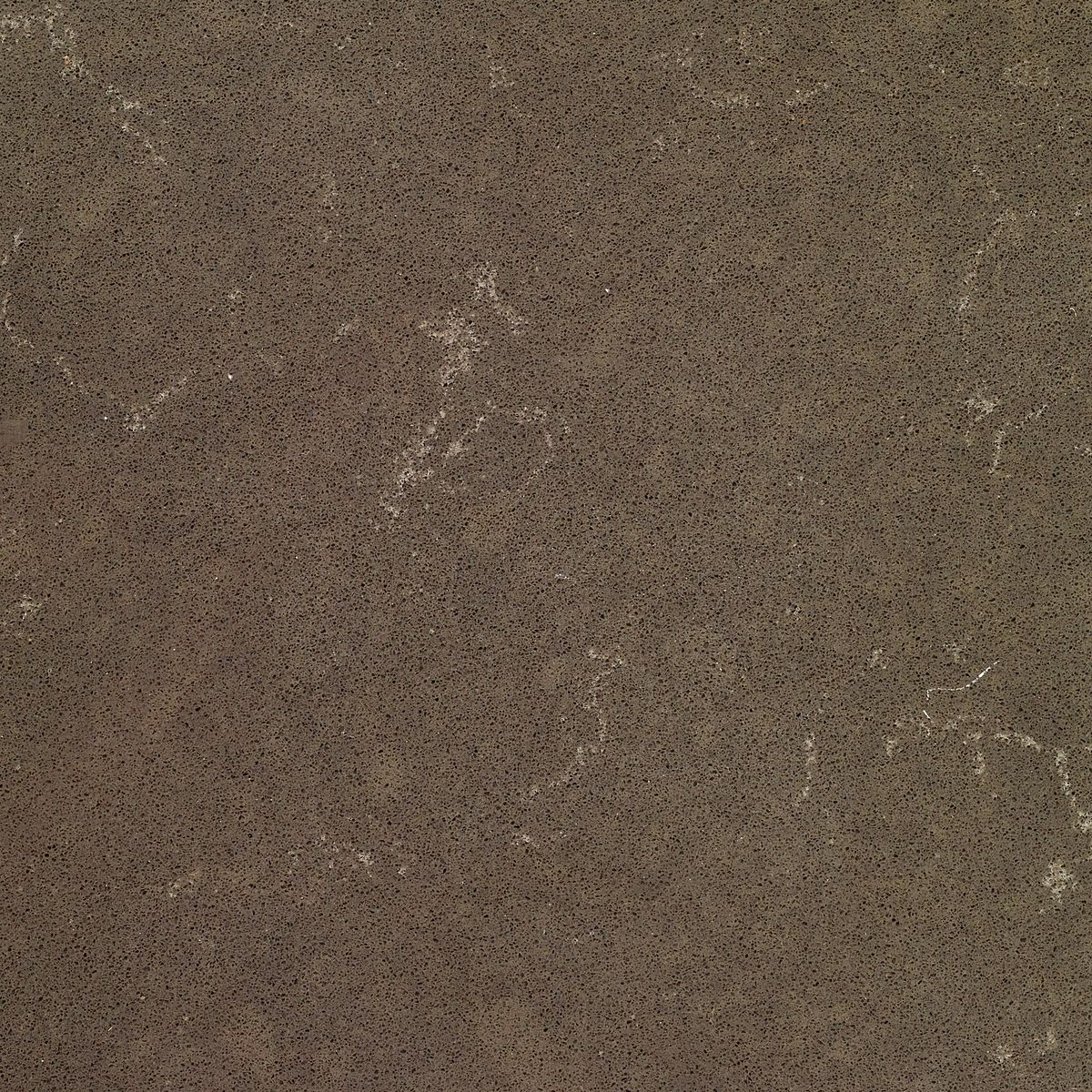 Brown and stone textured quartz color option.