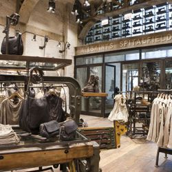 New all saints store on chicago's michigan avenue