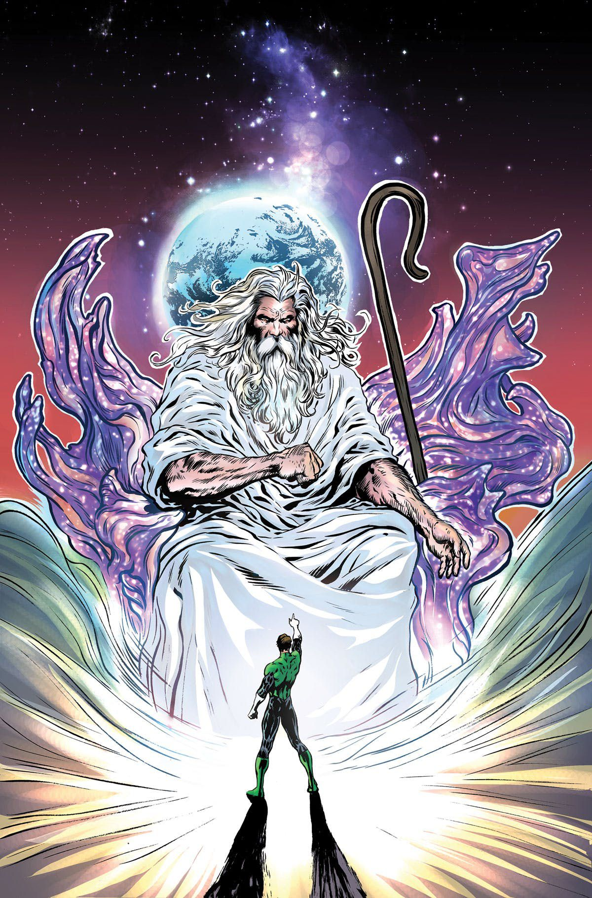 The cover of The Green Lantern #3, DC Comics (2019).