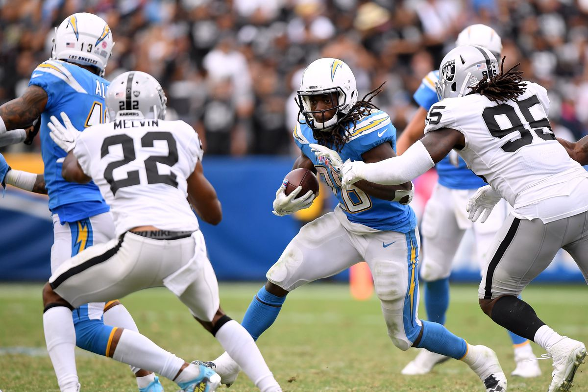 2a0cc9a9 Raiderdamus' Friday Foretelling: Raiders vs. Chargers - Silver And ...