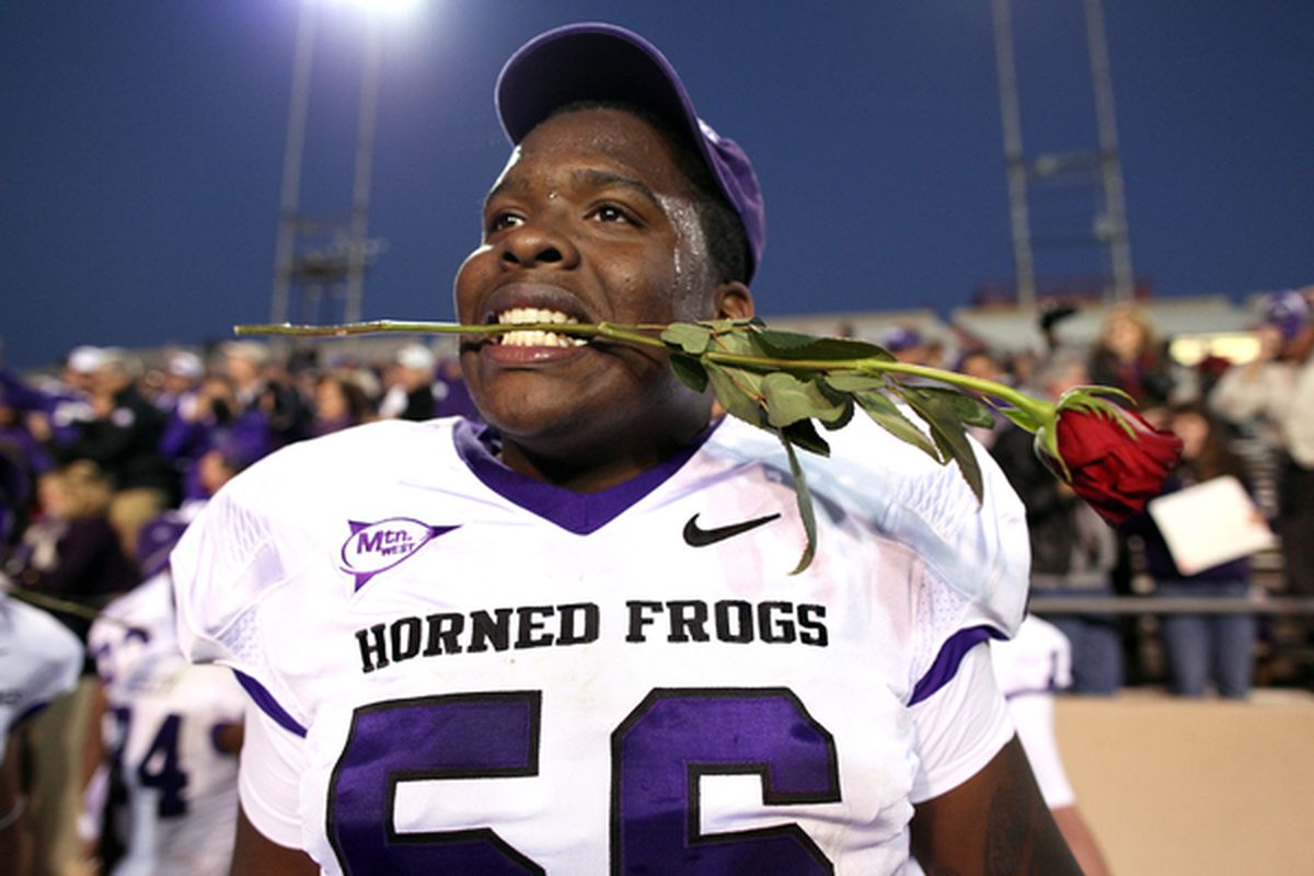 The TCU Horned Frogs are headed to the Rose Bowl, to face the Wisconsin Badgers.