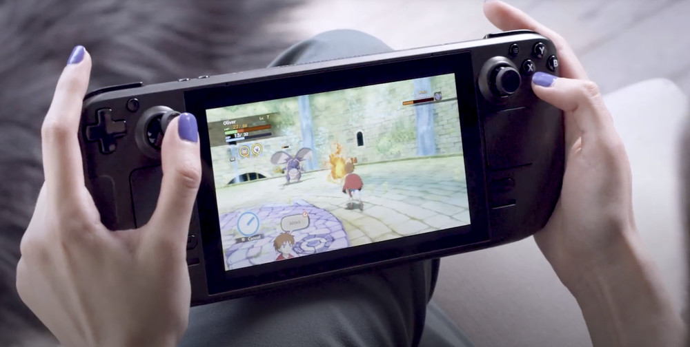 Valve Handheld Gaming Console, Steam Deck Available in December