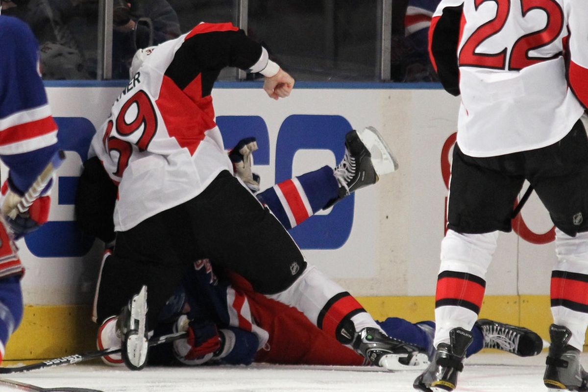 """""""No, Konopka didn't put me up to this. Why do you ask?"""""""