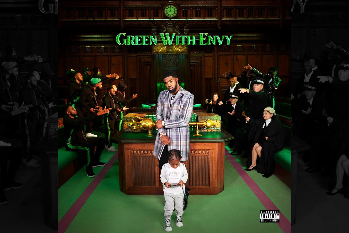 Tion Wayne's 'Green With Envy' artwork