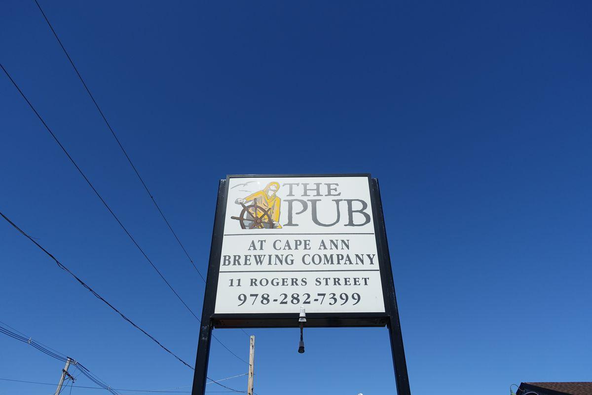The Pub at Cape Ann Brewing Co.
