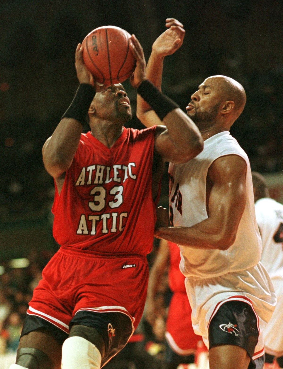 5f6a0ed9713 Ewing and Mourning play in a charity game in Atlantic City AFP/Getty Images