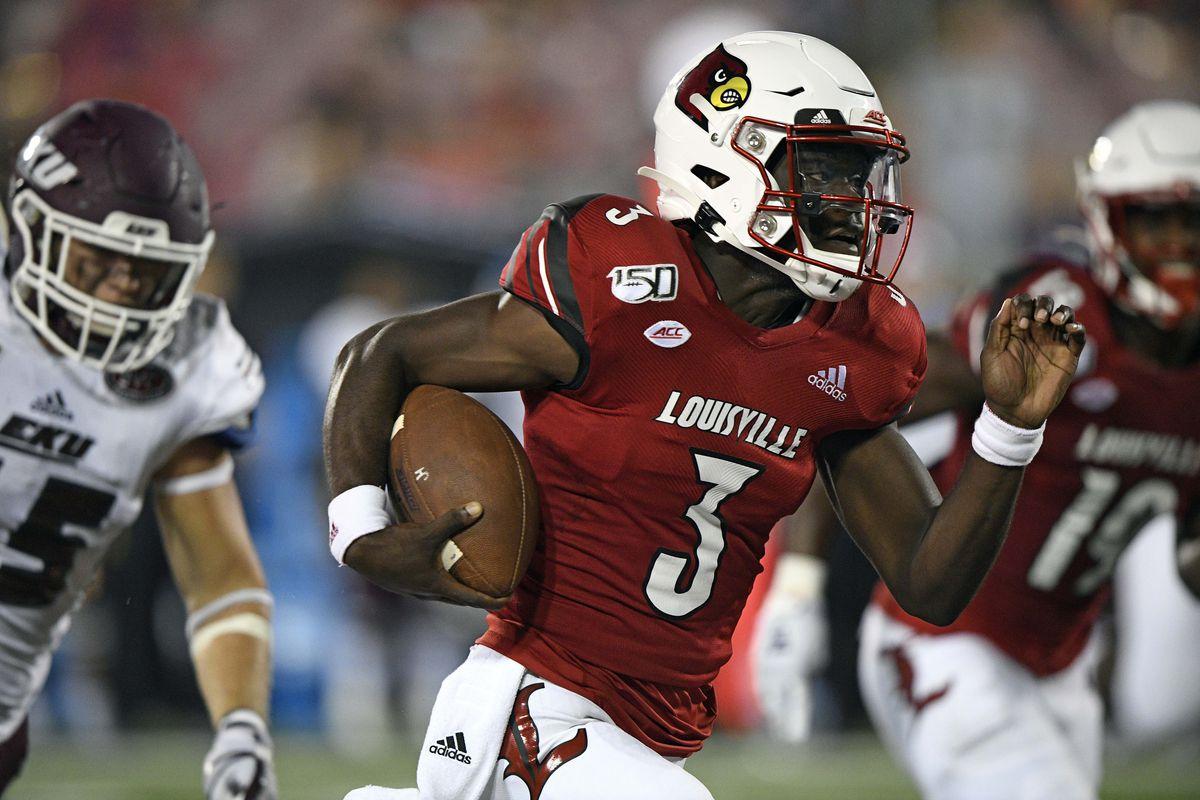 NCAA Football: Eastern Kentucky at Louisville