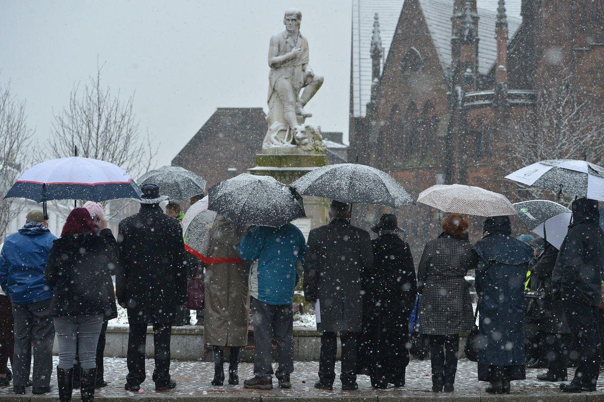 Scots Celebrate The Anniversary Of The Birth Of Robert Burns