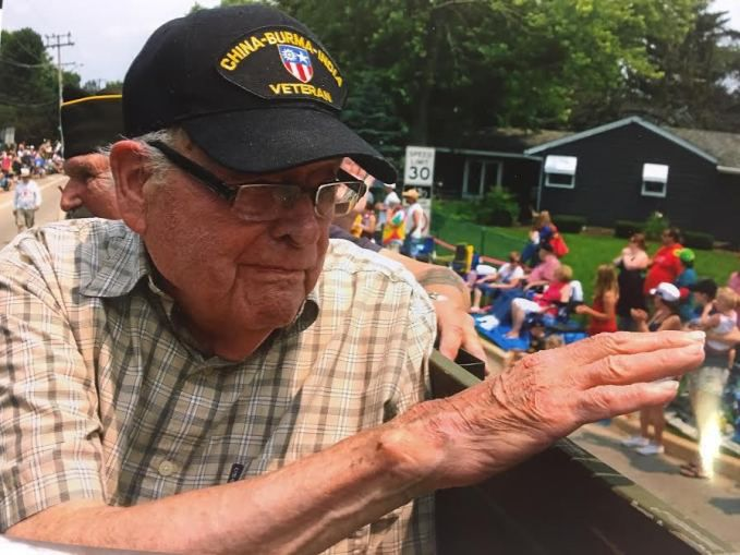 Bill Davis served in the Army in India, Burma, the Philippines and China in World War II. | Provided photo