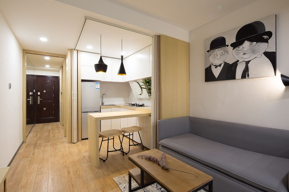 Tiny apartment designed for two people, 51 cats in ...