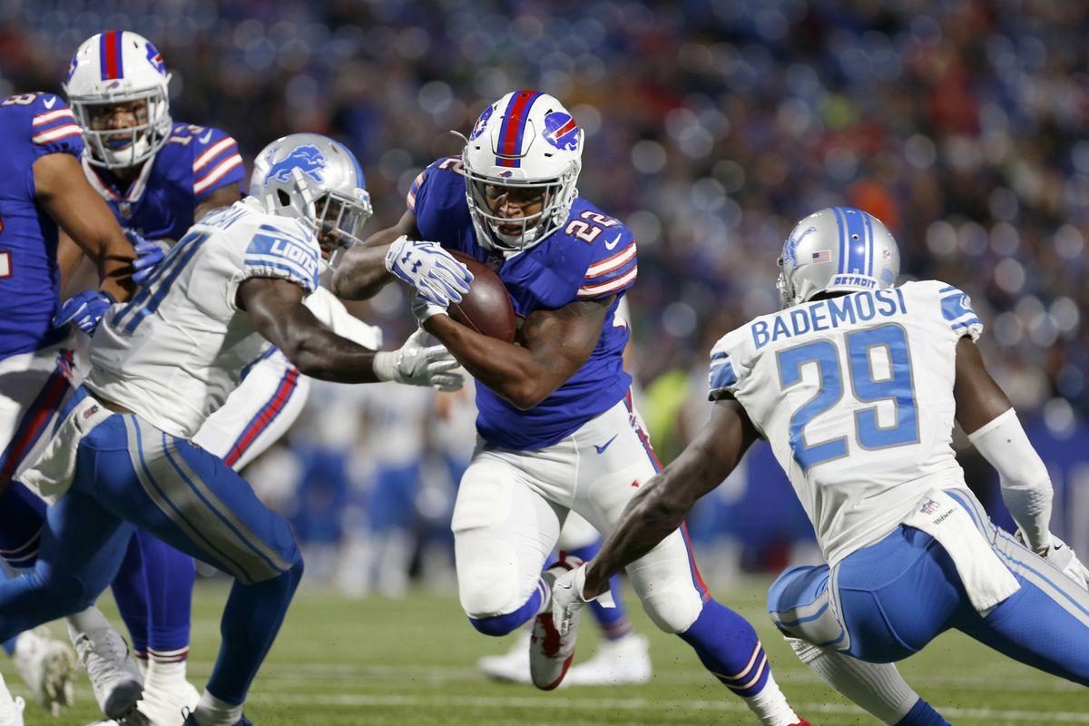 NFL: Detroit Lions at Buffalo Bills