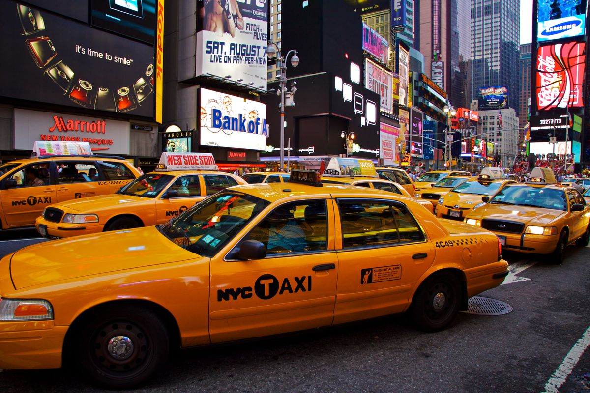 NYC's yellow cabs will now offer carpooling options ...