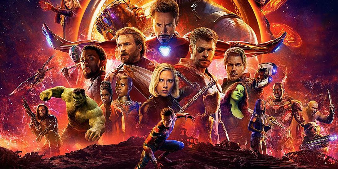 Resultado de imagem para avengers infinity war banner