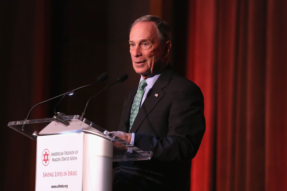 Greg Ferenstein says Michael Bloomberg is the favorite politician of Silicon Valley elite.