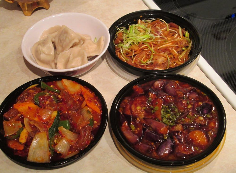 Sichuan River's dishes