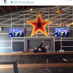 8th Wonder Brewery taproom.