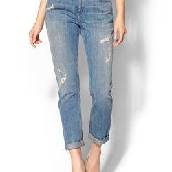 """<b>Current/Elliot</b> The Cropped Straight Jean, <a href=""""http://piperlime.gap.com/browse/product.do?cid=1008622&vid=1&pid=990921002"""">$228</a>"""
