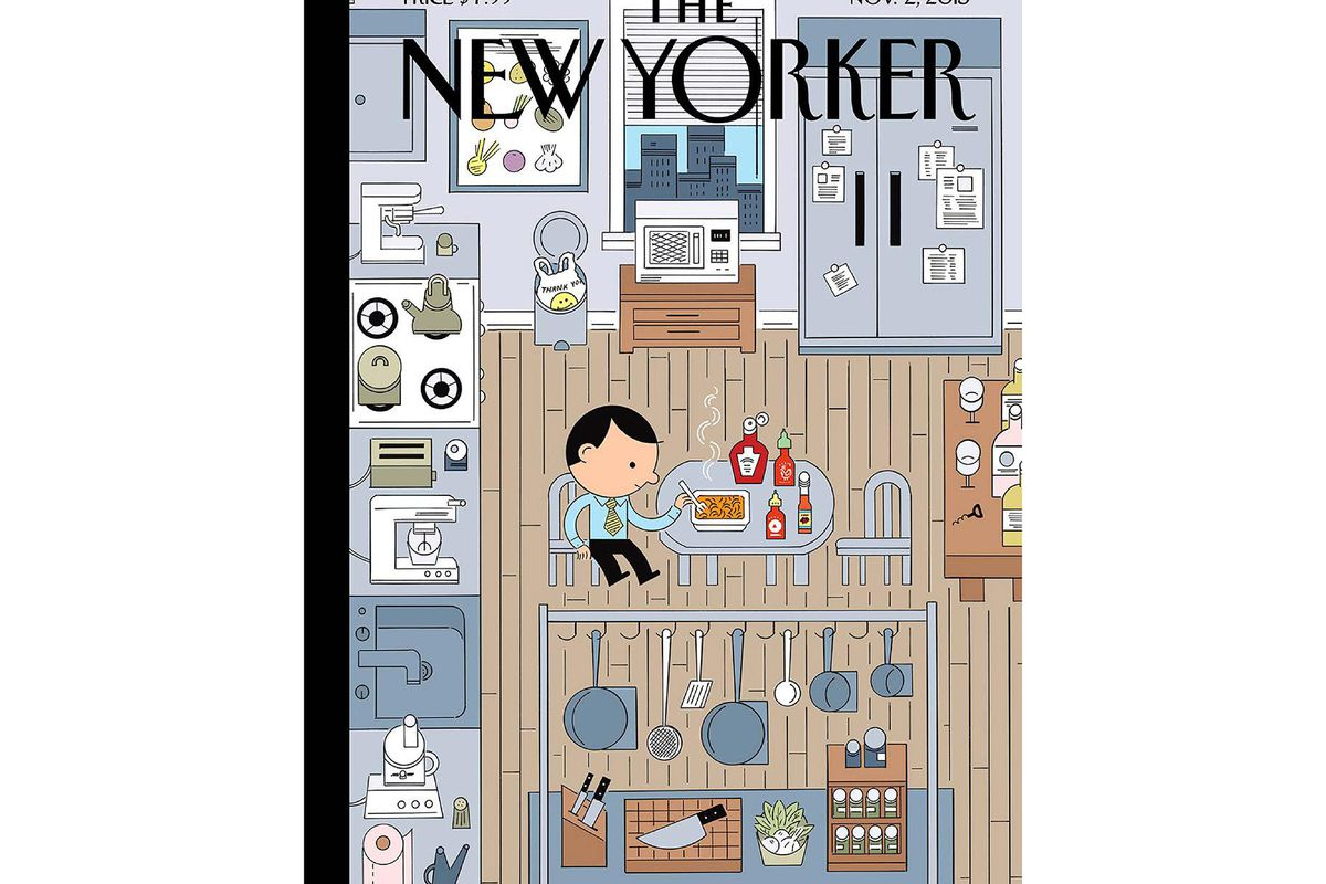 Inside the New Yorker\'s 2015 Food Issue - Eater