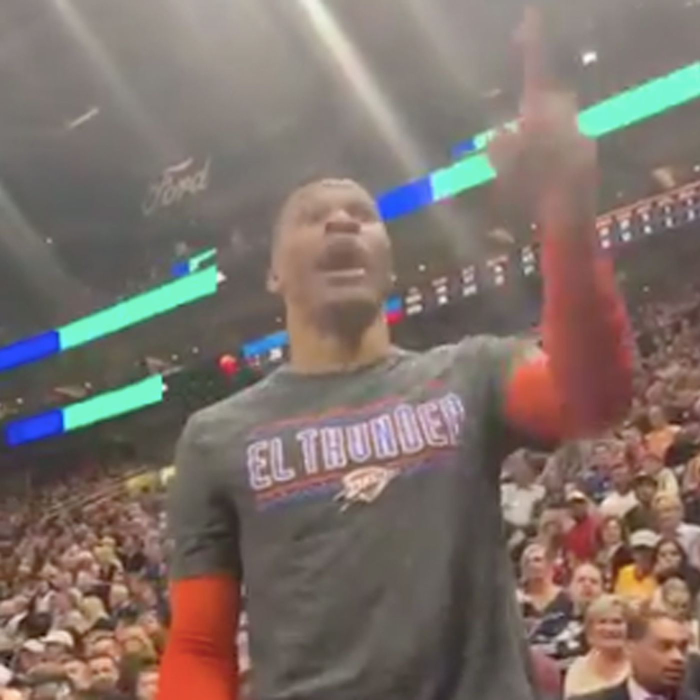 1209b5a39 Video shows Russell Westbrook telling a Jazz fan he d  f ck you up.  Here s  the full story - SBNation.com