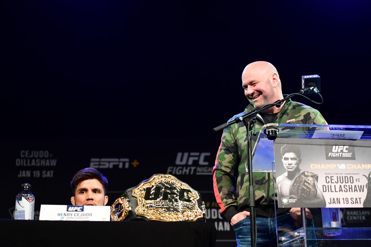 Shevchenko vs. Cejudo is 'the wackiest sh-t I've ever heard' says Dana White: 'It's just f-cking crazy'