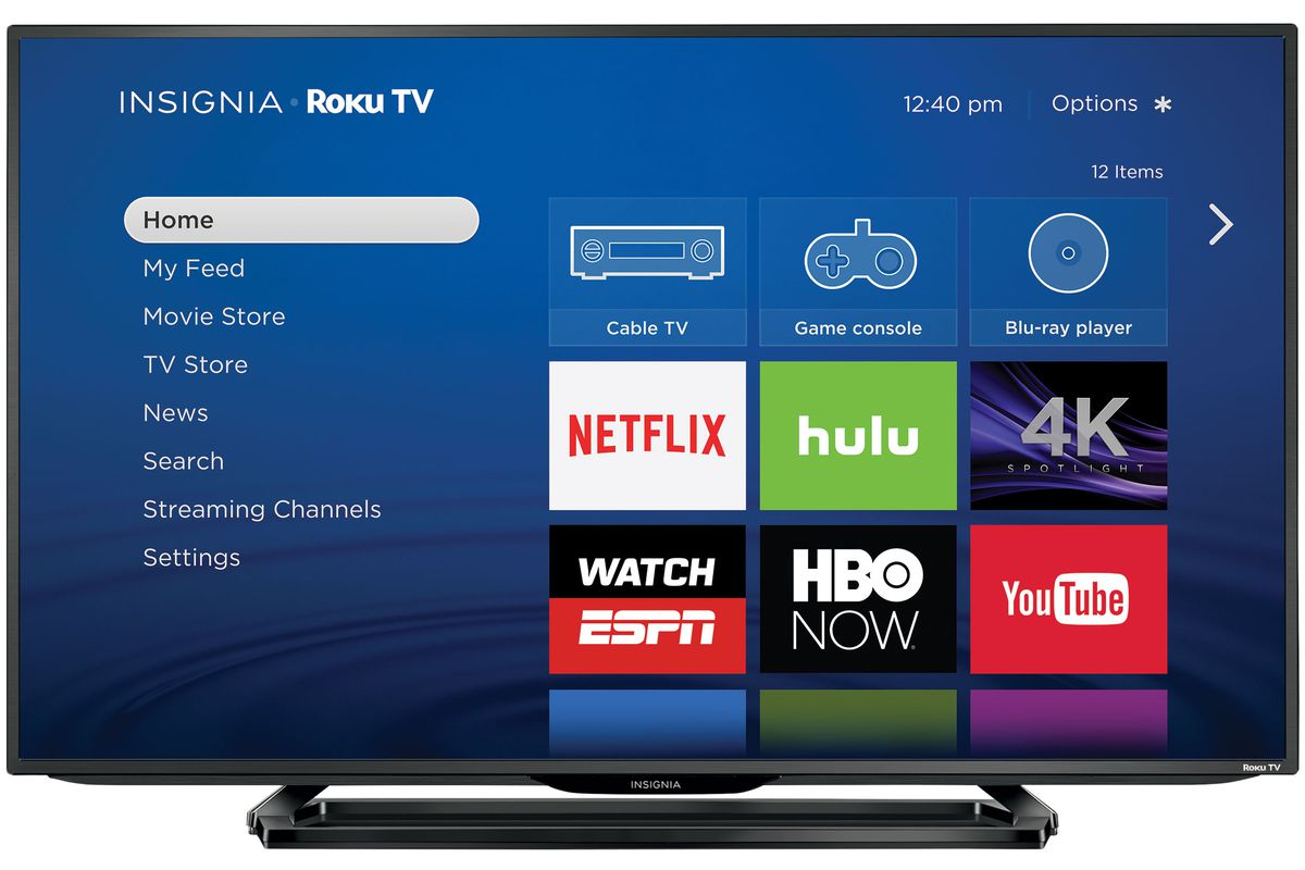 the first 4k roku tvs are now shipping and they 39 re. Black Bedroom Furniture Sets. Home Design Ideas