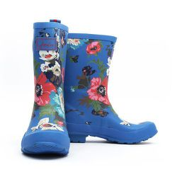 """<strong>Joules</strong> Blue Flora Molly Welly, <a href=""""http://www.joulesusa.com/Women/New-In-Accessories-Footwear/Molly-Welly/Womens-Molly-Welly/Blue-Floral"""">$62</a>"""