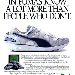Puma is rereleasing its classic 1986 RS-Computer running ...
