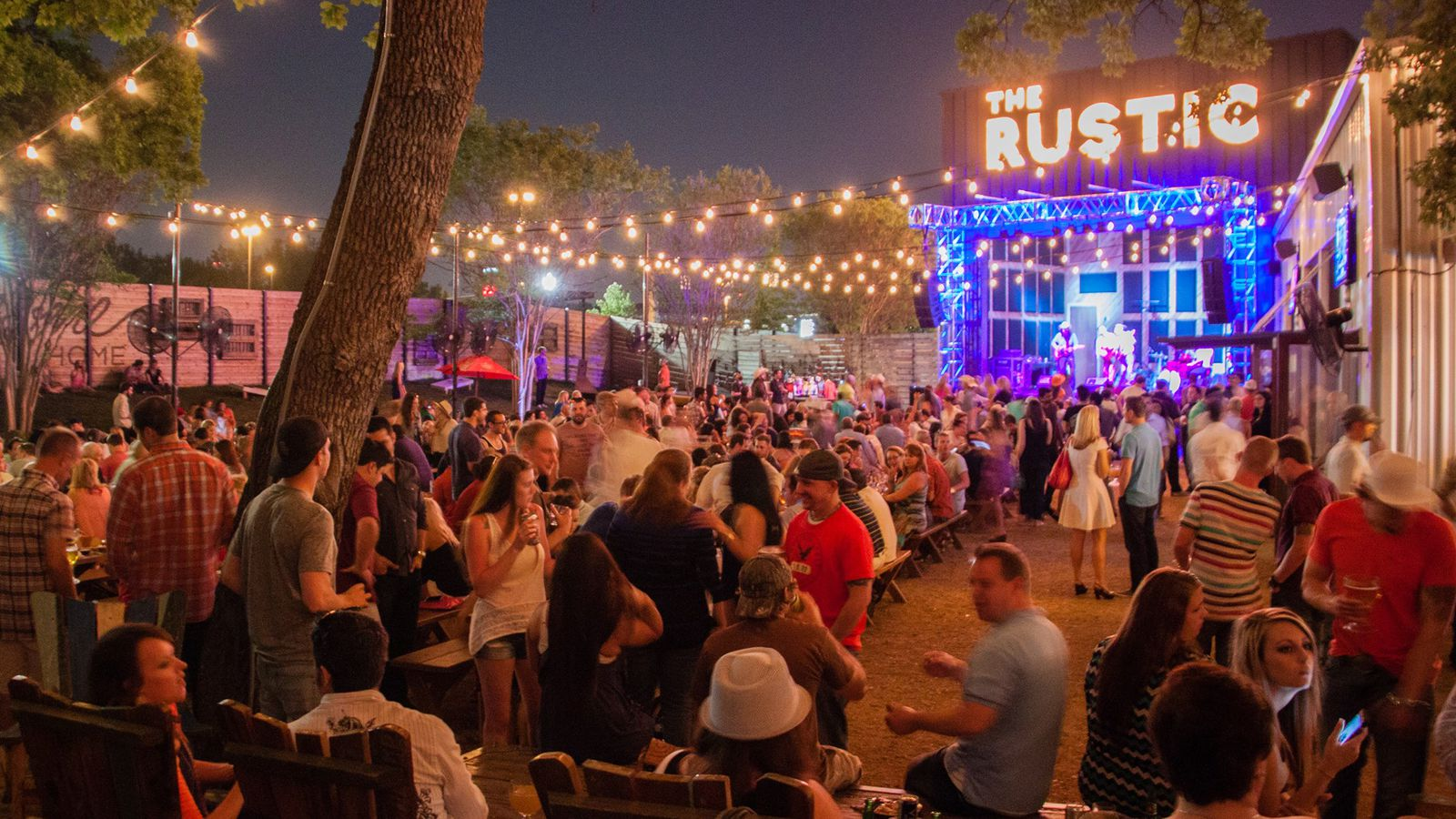 The rustic brings a massive new restaurant bar and music for Rustic and more