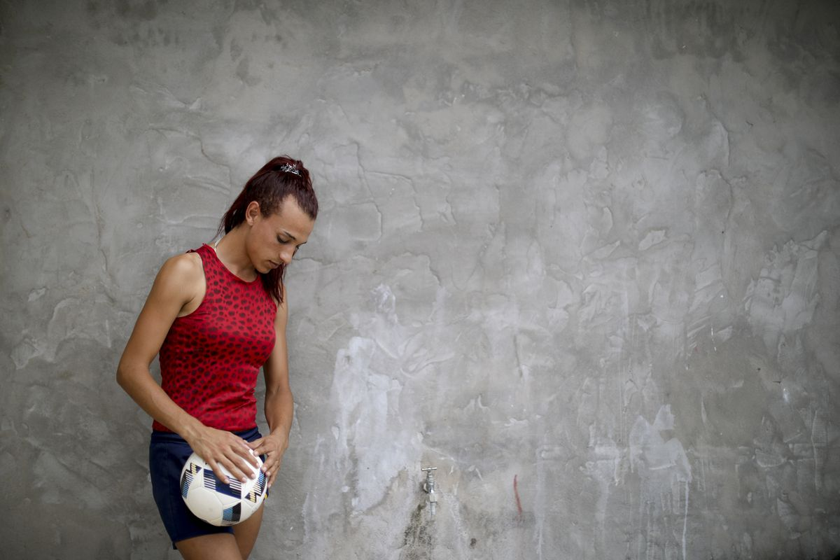 Soccer player Mara Gomez is awaiting approval to become the first transgender woman to play in first division competition in Argentina.