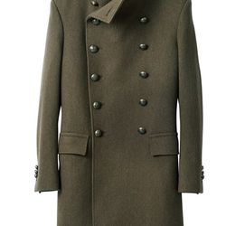 Balmain x H&M coat, £149.99 ($168.99 at current exchange)